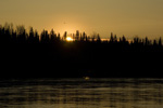 Tanana Sunset, stock photo